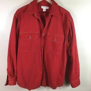 Vintage Banana Republic Red Denim Shirt